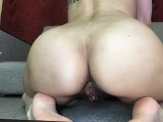 Worship my hairy pussy and hairy ass