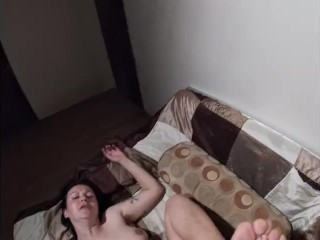 MILF With Hairy underarms gets banged / Feet Soles View POW /
