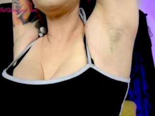 Sweaty Summer armpits Free Preview
