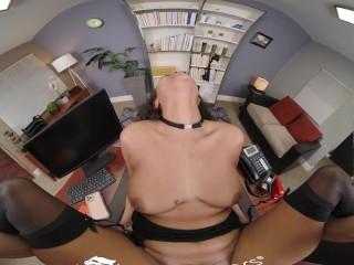 VR BANGERS Secret Sex Meeting At Work VR Porn